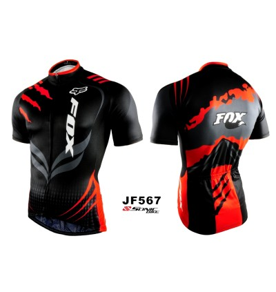 READY STOCK FOX 2018 DESIGN Cycling Jersey - JF567