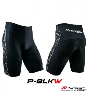READY STOCK Sonic Design Shorts Cycling Pant - P-BLKW