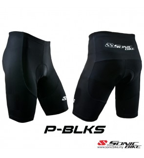 READY STOCK Sonic Design Shorts Cycling Pant - P-BLKS