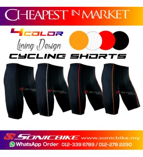 READY STOCK Plain Black Shorts Cycling Pant - P-BLK Series