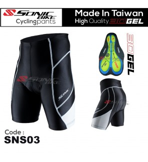 READY STOCK Super Quality Sonic Design Cycling Short Pant Unisex- SNS03