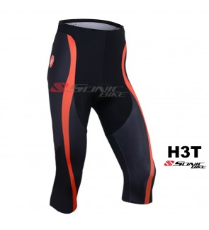READY STOCK [ FREE RETURN ] High Quality Gel Pad 3/4 Cycling Pant - H3T