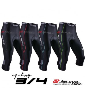 READY STOCK 4 Color Option Super Quality 3 4 Cycling Pants High Quality  Sponge Pad 90ac6e933