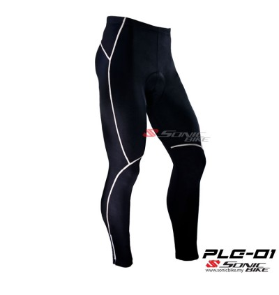READY STOCK UNISEX High Quality Long Cycling Pant -  PLG01