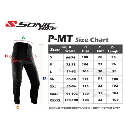 READY STOCK High Quality Cycling Pants (For Leisure Rides/ Off Road/ Downhill/ Hiking) - P-MT