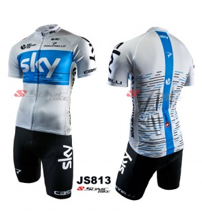 READY STOCK SKY 2018 Cycling Jersey / Cycling Wear - JS813