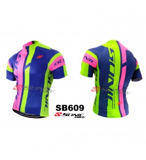 READY STOCK [ FREE RETURN ] Sonicbike Cycling Jersey / Cycling Wear - SB609