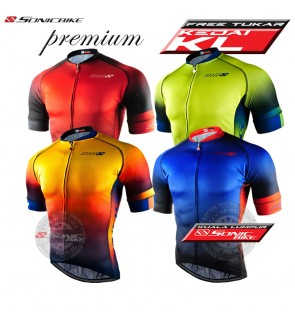 READY STOCK [ FREE RETURN ] Sonicbike Cycling Jersey / Cycling Wear - SB640