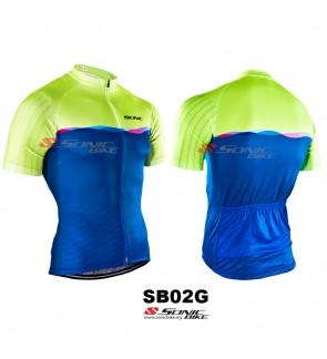 READY STOCK [ FREE RETURN ] Sonicbike Cycling Jersey / Cycling Wear - SB02G