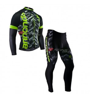 READY STOCK [ FREE RETURN ] Cannondale Cycling Jersey Long Sleeve - JC926