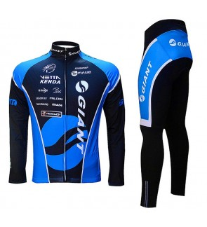 READY STOCK [ FREE RETURN ] GIANT Cycling Jersey Long  Sleeve JG901