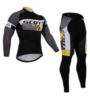 READY STOCK [ FREE RETURN ] Scott Cycling Jersey Long Sleeve – JS981