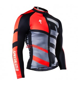 READY STOCK [ FREE RETURN ] Specialized Cycling Jersey Long Sleeve - JS942