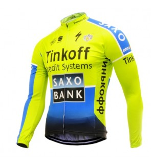 READY STOCK [ FREE RETURN ] SAXO Cycling Long sleeve Jersey - JT941