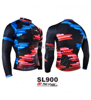 READY STOCK [ FREE RETURN ] Sonicbike Cycling Jersey Long Sleeve - SL900