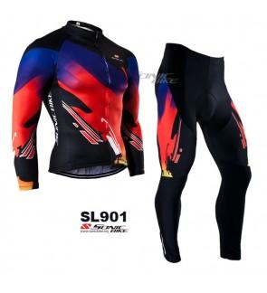 READY STOCK [ FREE RETURN ] Sonicbike Cycling Jersey Long Sleeve - SL901