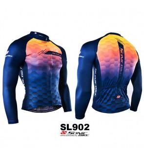 READY STOCK [ FREE RETURN ] Sonicbike Cycling Jersey Long Sleeve - SL902