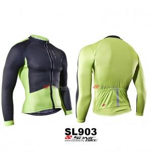 READY STOCK [ FREE RETURN ] Sonicbike Cycling Jersey Long Sleeve - SL903