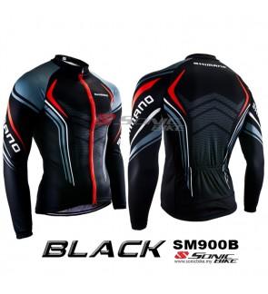 READY STOCK [ FREE RETURN ] Shimano Cycling Jersey Long Sleeve – SM900B