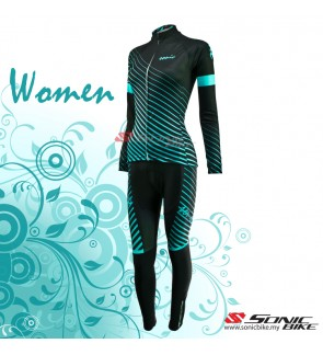 READY STOCK [ FREE RETURN ]  Women Cycling Jersey / Cycling Wear - FJB01
