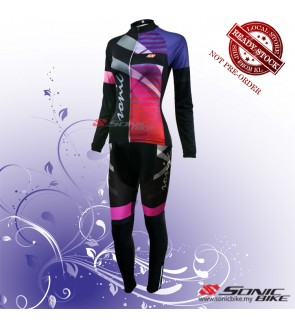 READY STOCK [ FREE RETURN ] Women Cycling Jersey / Cycling Wear - FJC01