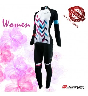 READY STOCK [ FREE RETURN ] Women Cycling Jersey / Women Cycling Wear - FJW01