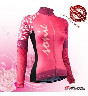 READY STOCK [ FREE RETURN ] Women Cycling Jersey / Women Cycling Wear - FN23P