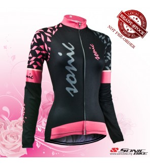 READY STOCK [ FREE RETURN ] Women Cycling Jersey / Women Cycling Wear - FN22B