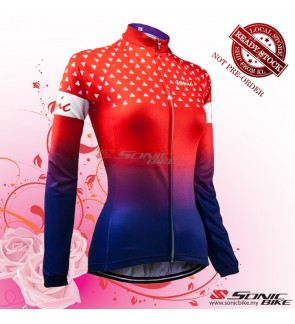 READY STOCK [ FREE RETURN ] Women Cycling Jersey / Women Cycling Wear - FJR01