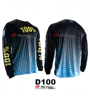100% MTB Downhill Cycling jersey  / Motocross / D100