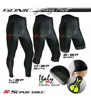Sonicbike PREMIUM Cycling Pant - Short, 3/4,  Long Pant - SBP
