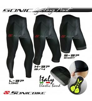 Sonicbike PREMIUM Cycling Pant - Short, 3/4,  Long Pant - SBP