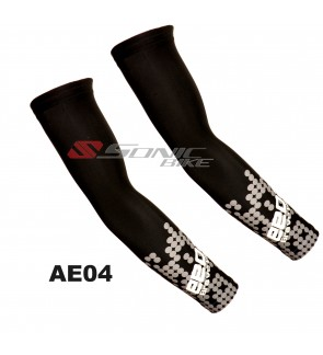 EEDA Cycling Arm Warmer Arm Sleeve Sun Block Black - AE04