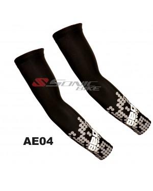 EEDA Cycling Arm Warmer Arm Sleeve Sun Block Black - AE04
