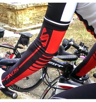 SONIC DESIGN Cycling Arm Warmer Arm Sleeve Sun Block White - AS-W
