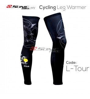 Le Tour Cycling Leg Warmer Sun Protection - L-LT