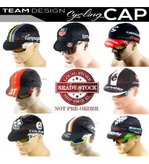 READY STOCK All Team Design Cycling Cap P1 / CAP