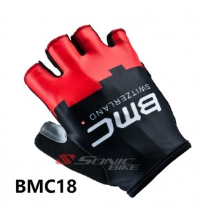 BMC Team Design Cycling / Fitness Half Finger Padded Glove - GB355