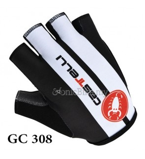 Castelli Team Design Cycling / Fitness Half Finger Padded Glove - GC308