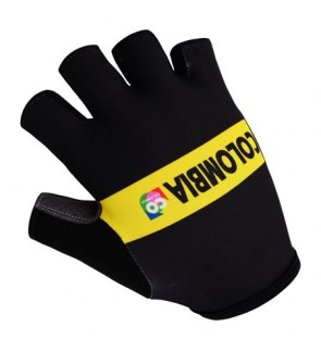 Colombia Team Design Cycling / Fitness Half Finger Padded Glove - GC402