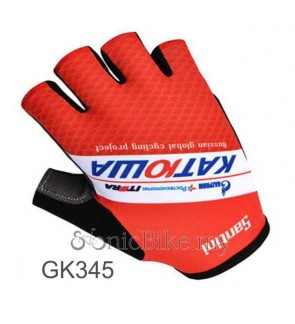 Katiowa Team Design Cycling / Fitness Half Finger Padded Glove - GK345