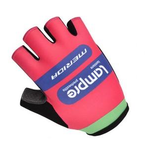 Lampre Team Design Cycling / Fitness Half Finger Padded Glove - GM366