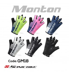 MONTON Half Finger Padded Cycling Glove - GM18