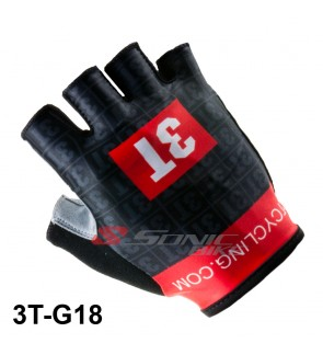 3T Design Cycling / Fitness Half Finger Padded Glove - 3T18