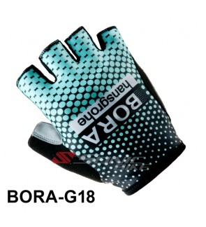 BORA Team Design Cycling / Fitness Half Finger Padded Glove - BORA18