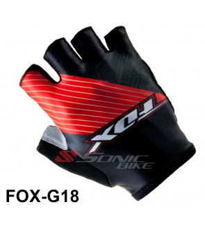 FOX Team Design Cycling / Fitness Half Finger Padded Glove - FX18