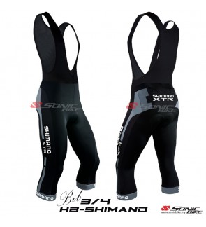 Shimano High Quality 3/4 Cycling BIB Pant > HBSHIMANO