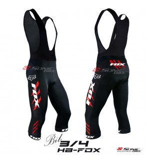 Fox High Quality 3/4 Cycling BIB Pant > HBFOX