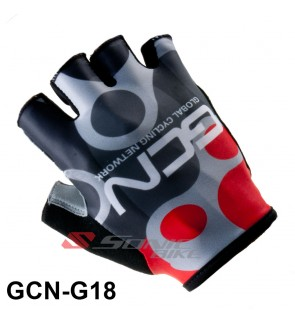 GCN Team Design Cycling / Fitness Half Finger Padded Glove - GCN18