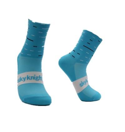 READY STOCK SKY Cycling Socks Unisex 4'' HIGH / SPORT SOCKS - SSKY